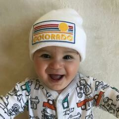 Baby/Toddler Patch Beanie - Colorado