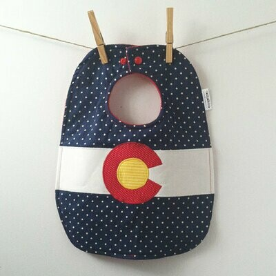 Bib - Colorado Flag