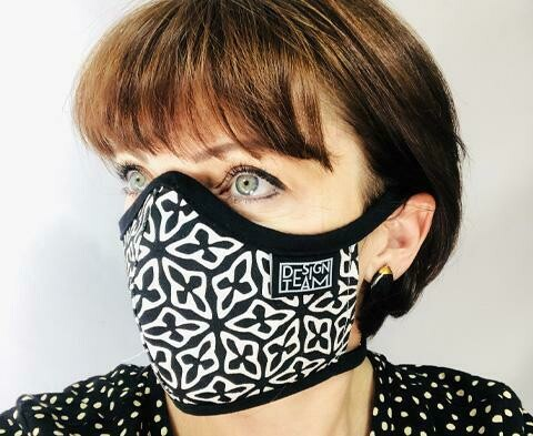 Design Team Mask - Seed Black