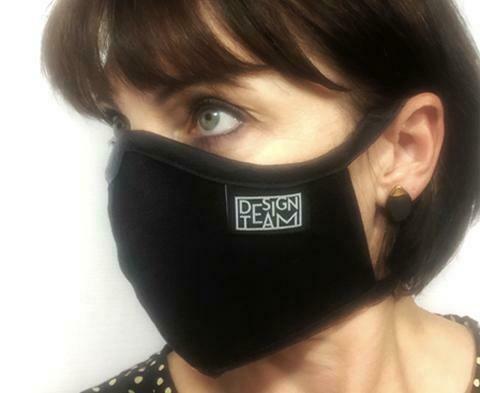 Design Team Mask - Plain Black