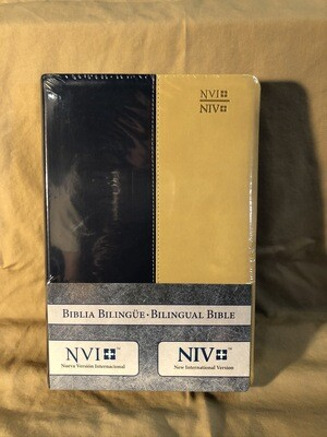Bilingual Bible Blue/brown