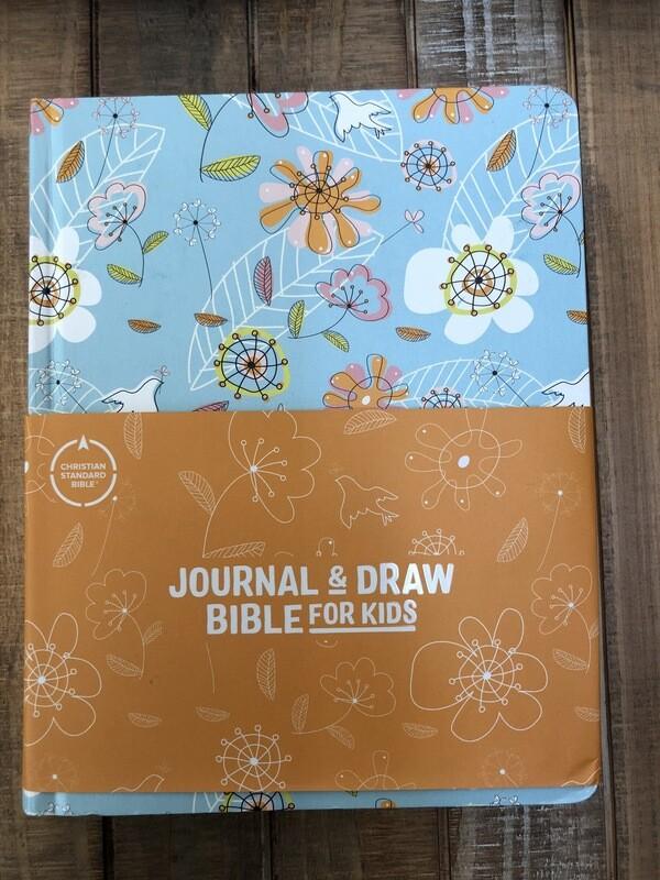 Flowery CSB Journal & Draw Bible