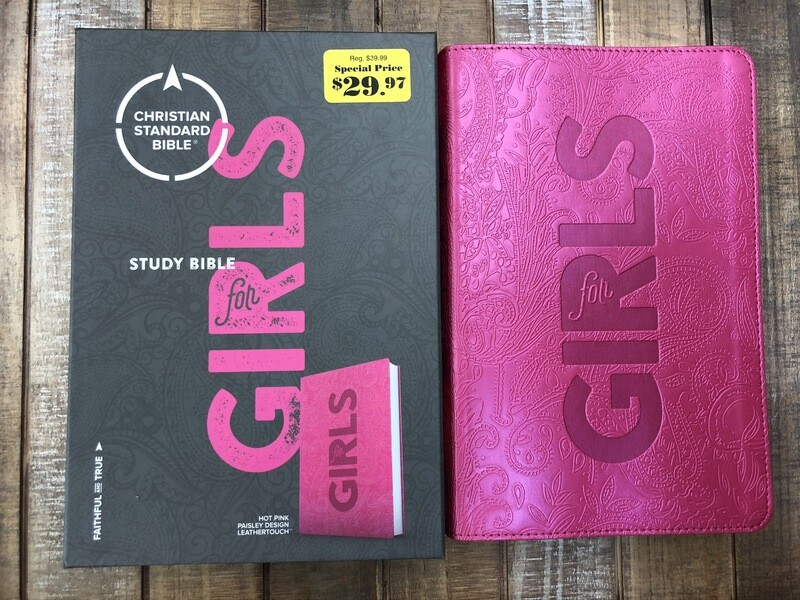 CBS Hot Pink Study Bible