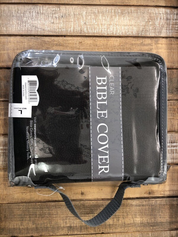 Clear Bible Cover