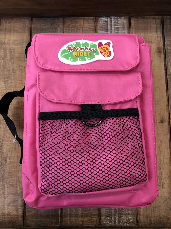 Pink Adventure Bible Cover Nylon