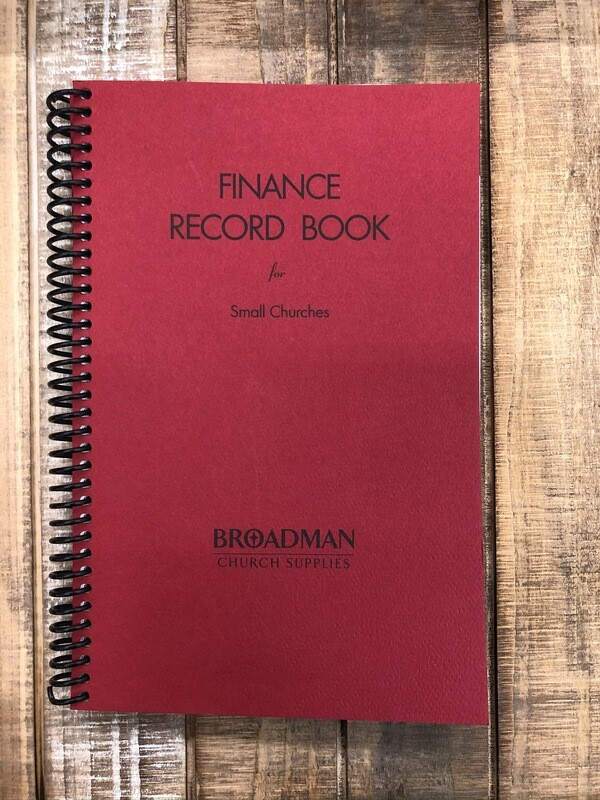 Finance Record Book