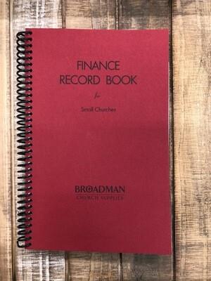 Finance Record Book