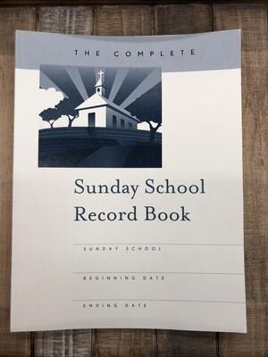 Suday School Record book