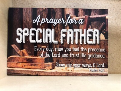 Special Father Pass It On Cards