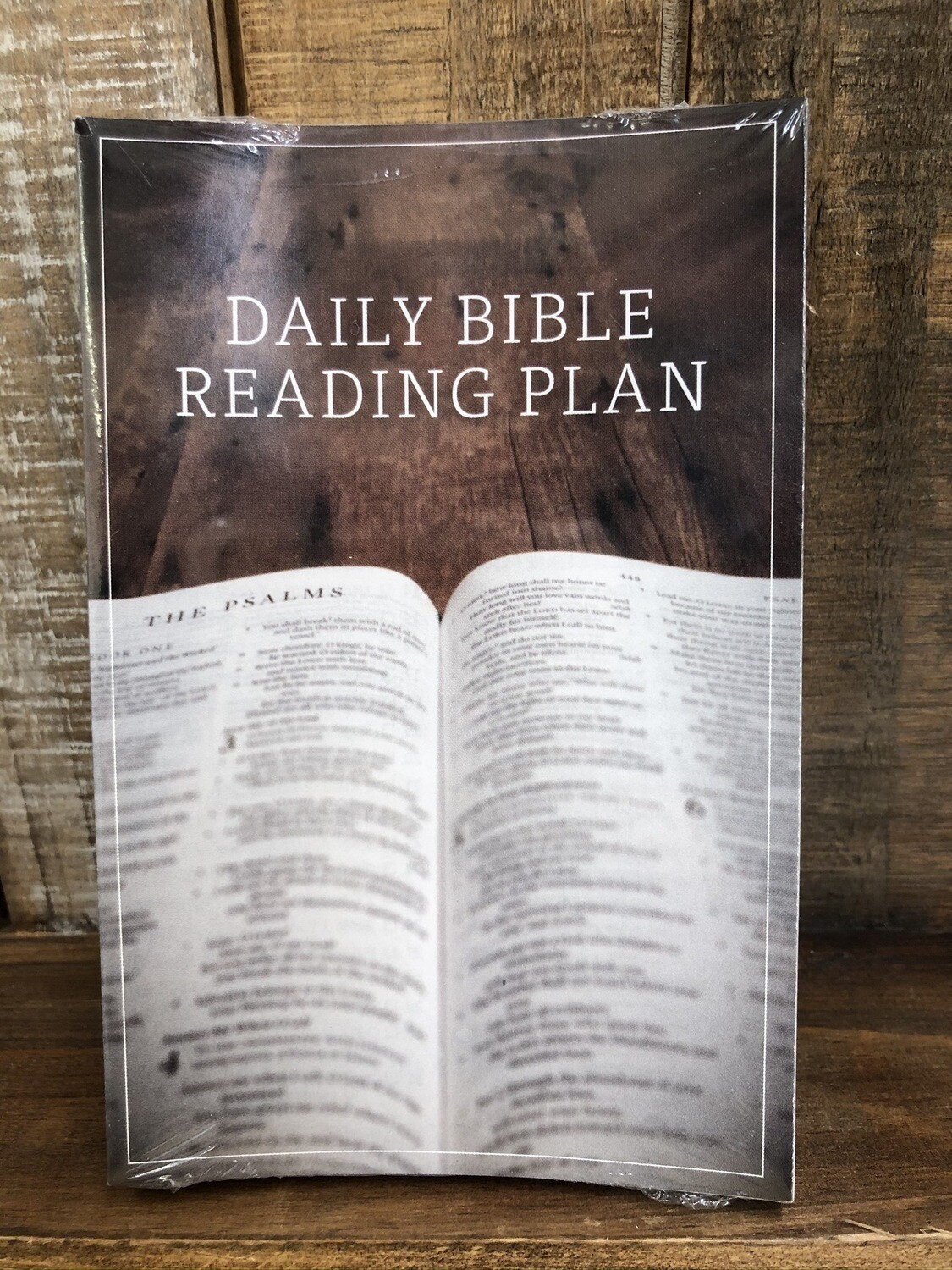 Daily Bible Reading Plan Tract