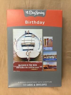Nautical Birthday Cards
