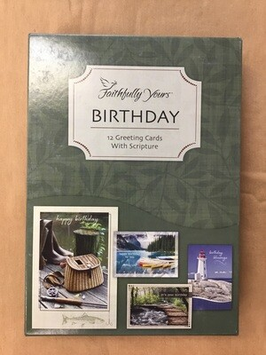 His Gifts Birthday Cards