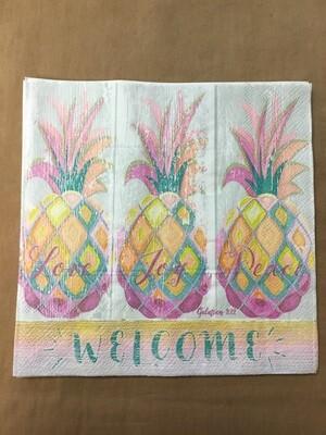 Pineapple Napkin