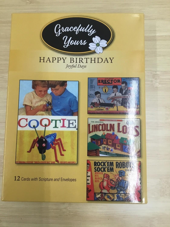 Joyful Days Birthday Cards