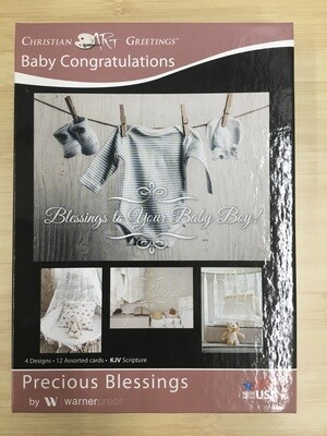 Precious Blessings Baby Cards