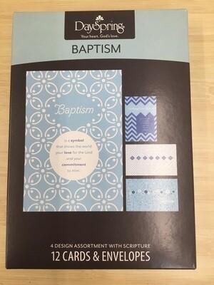 Baptism Blue Cards