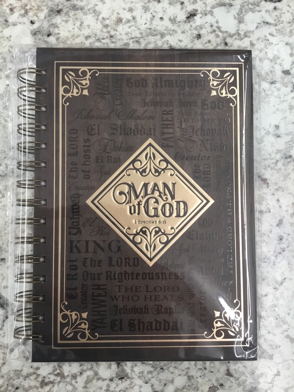 Man of God Notebook