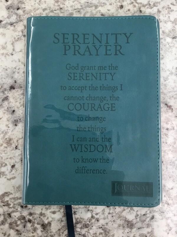 Serenity Prayer Journal Turq