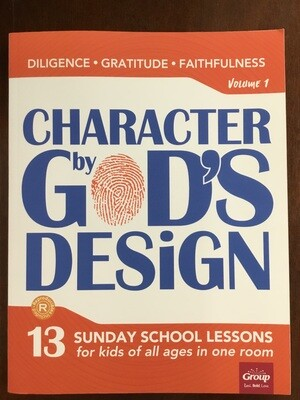 Character By Gods Design Vol 1