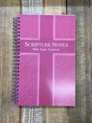 Scripture Notes Pink