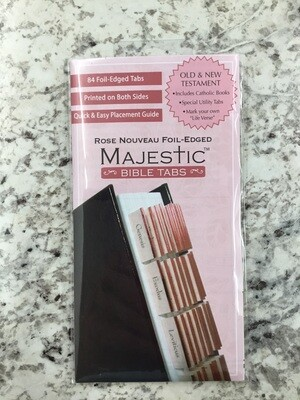 Rose Majestic Bible Tabs