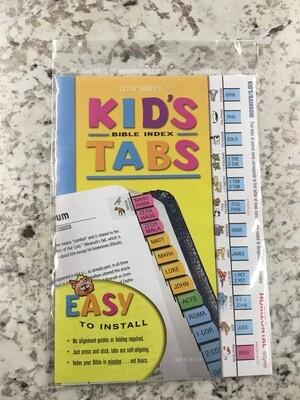 Kids Horizontal Tabs