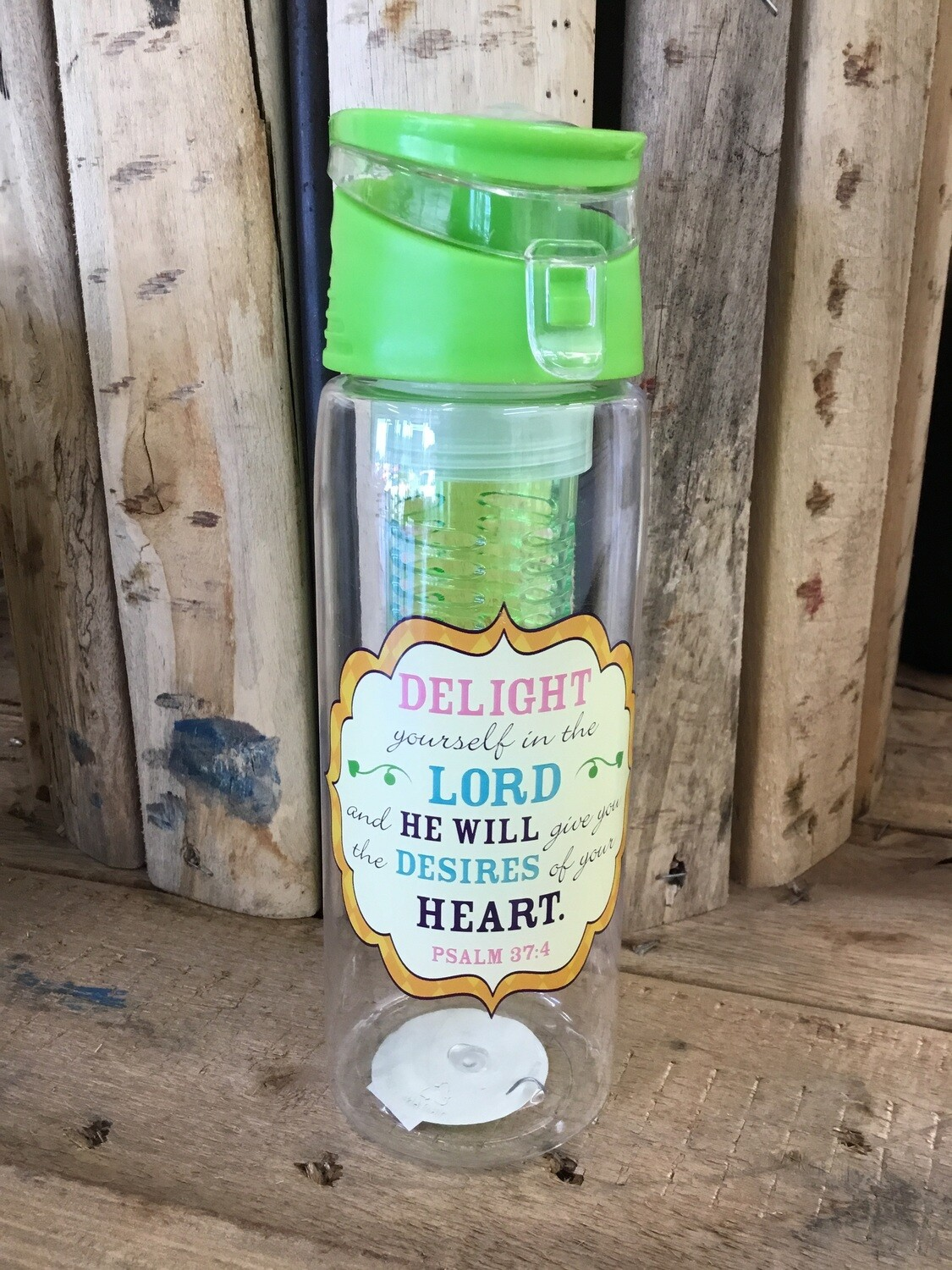 Delight yourself water bottle