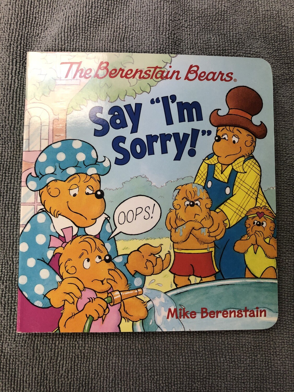 Say I'm Sorry!