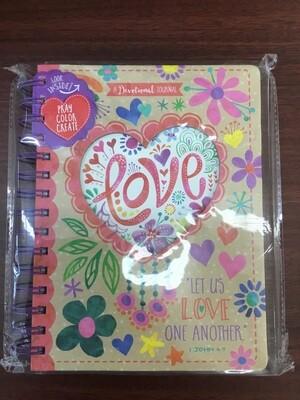 Love Pray Color Repeat Book