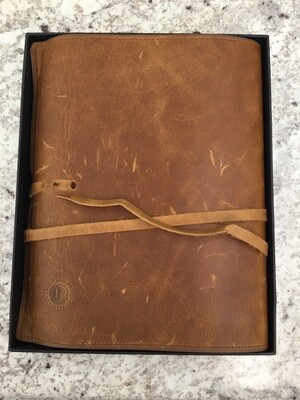 Righteous Man Full Grain Leather Bible Cover