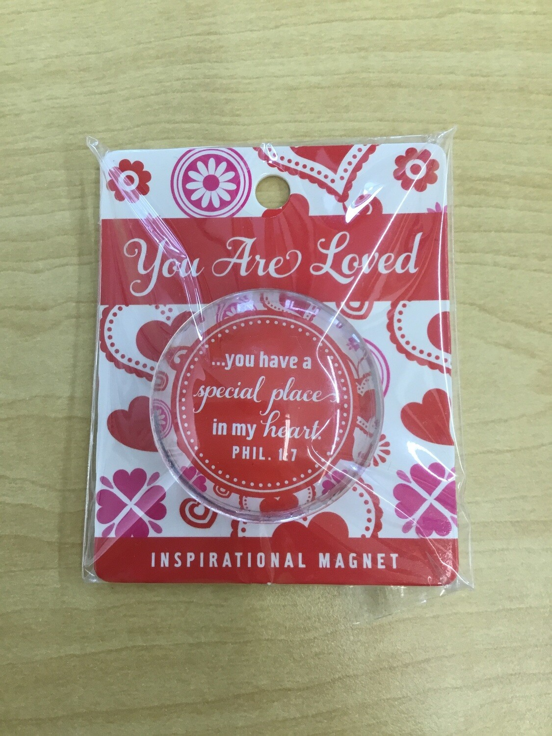 You Are Loved Magnet Red