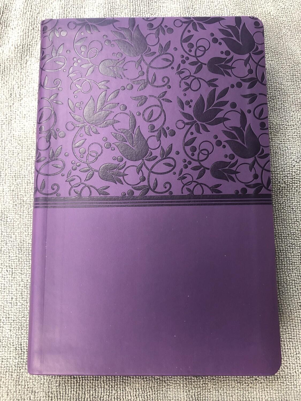 KJV purple Leathertouch Indexed
