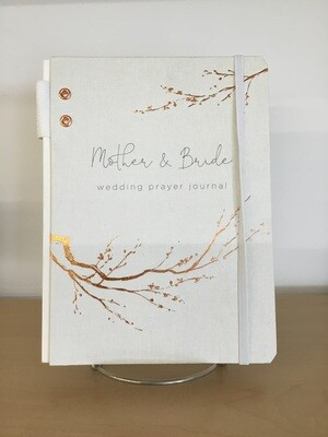 Mother & Bride Wedding Prayer Journal
