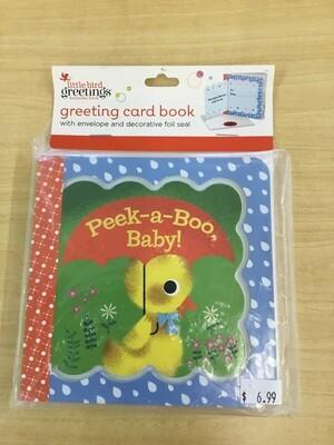 Peek-a-Boo Card Book