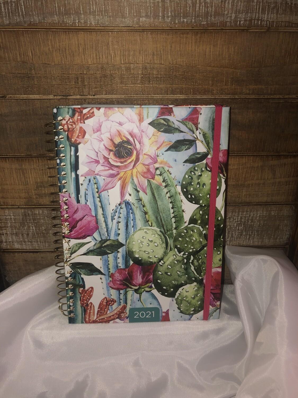 Cactus Flower Weekly Planner
