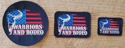 Warriors and Rodeo Patches