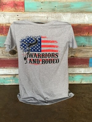 Warriors and Rodeo Logo T-Shirt