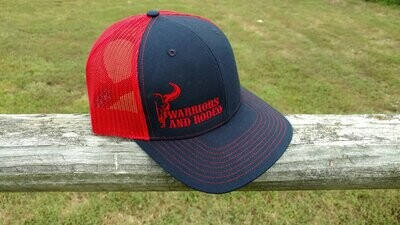 Warriors and Rodeo Blue/Red