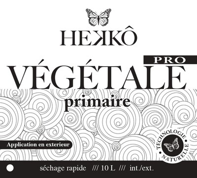 PRIMAIRE PRO Écologique Végétal 10 Lt