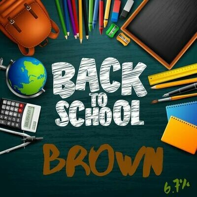 Back To School Brown