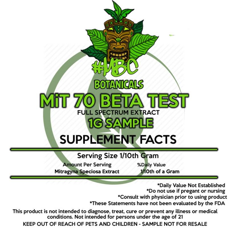 MiT 70 Beta - 1 Gram