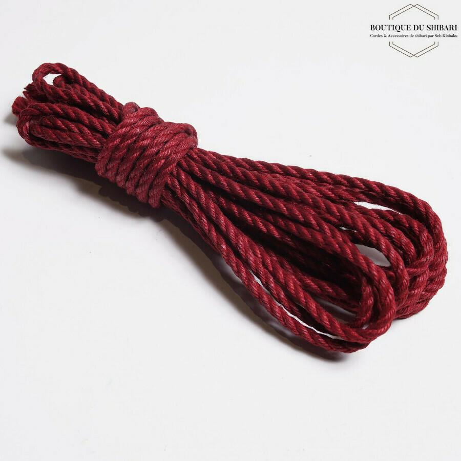 SHIBARI RED JUTE ROPE 6mm