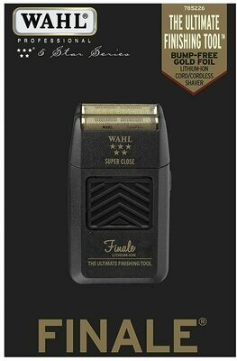 Wahl Professional 5 Star Series Finale Shaver Black