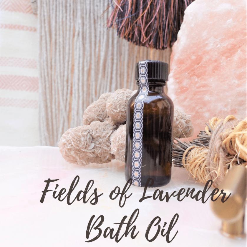 Fields Of Lavender Bath Oil