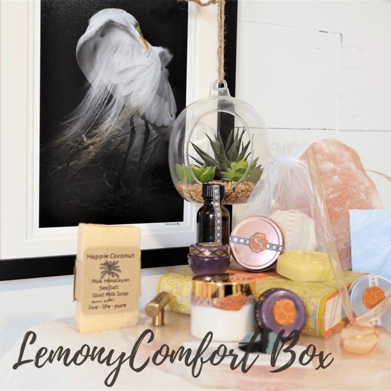 Lemony Comfort Box