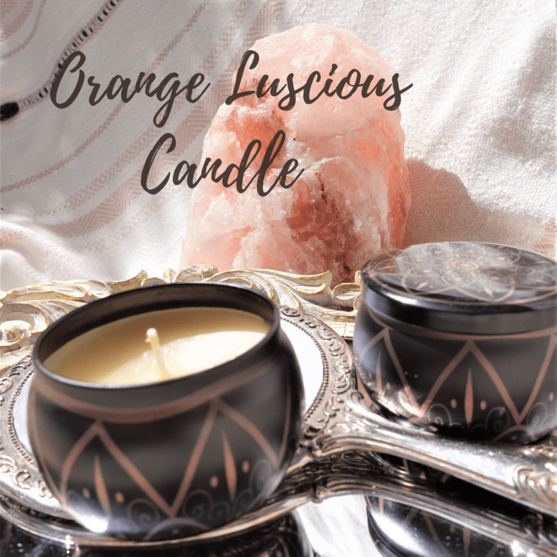 Orange Luscious Candle