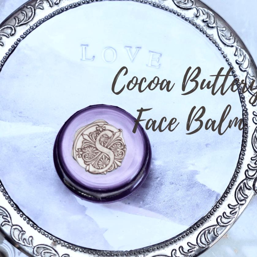 Cocoa Buttery Face Cream Balm