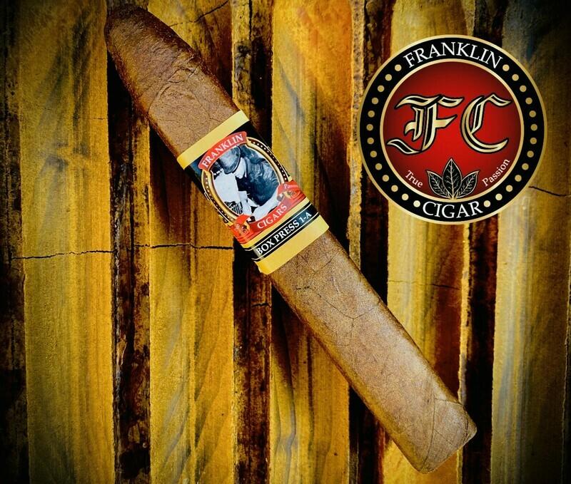 F. CIGARS BOX PRESS 1-A MADURO
