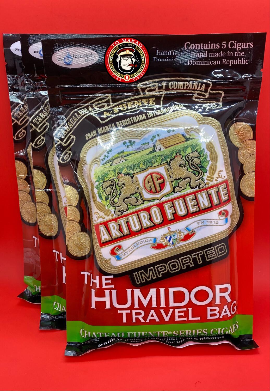 A. Fuente Travel Humidor Bag 5Pk