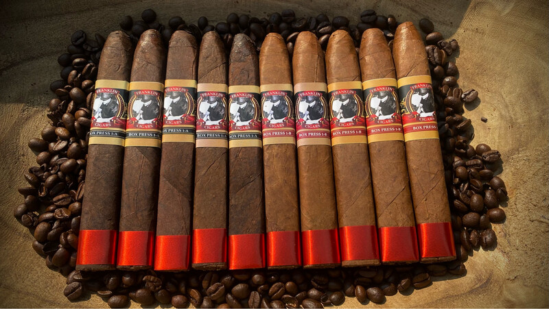 Franklin Cigars Box Press 10-Pack